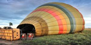 Balloon Safari Lift Off Preparation